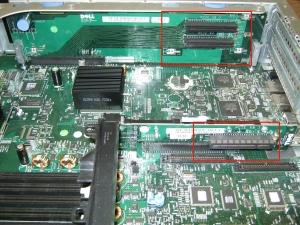 Fig. 1 - PCI-E PowerEdge 2950 Risers