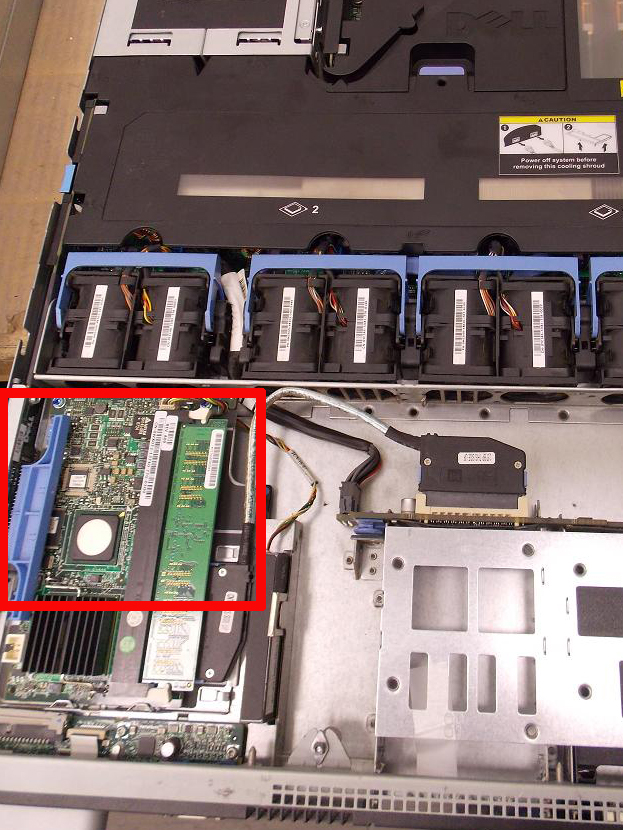 Dell 1950 expansion slots